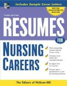 Resumes for Nursing Careers - McGraw-Hill Education - cover