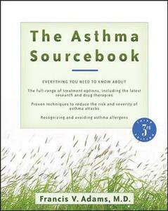 The Asthma Sourcebook - Francis V. Adams - cover