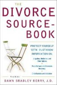 The Divorce Sourcebook - Dawn Bradley Berry - cover