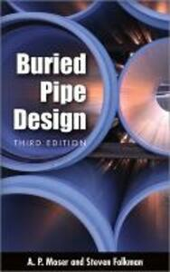 BURIED PIPE DESIGN - A. P. Moser,Steve Folkman - cover