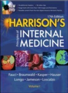 Libro Harrison's principles of internal medicine. Con CD-ROM Anthony S. Fauci