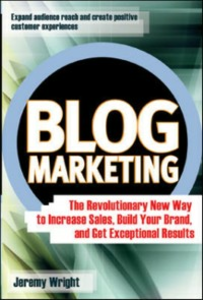 Ebook in inglese Blog Marketing Wright, Jeremy