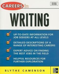 Careers in Writing - Blythe Camenson - cover