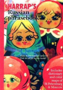 Harrap's Russian Phrasebook - Harrap - cover