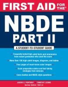 First Aid for the NBDE Part II - Jason E. Portnof,Timothy Leung - cover