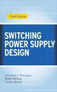 Libro Switching power supply design Abraham I. Pressman , Keith Billings , Taylor Morey