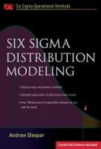 Six Sigma Distribution Modeling - Andrew Sleeper - cover