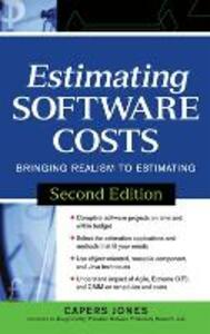 Estimating Software Costs: Bringing Realism to Estimating - Capers Jones - cover