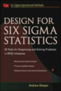 Ebook in inglese Design for Six Sigma Statistics Sleeper, Andrew