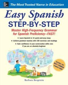 Foto Cover di Easy Spanish Step-By-Step, Ebook inglese di Barbara Bregstein, edito da McGraw-Hill Education