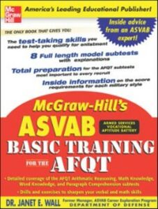 Ebook in inglese McGraw-Hill's ASVAB Basic Training for the AFQT Wall, Janet E.