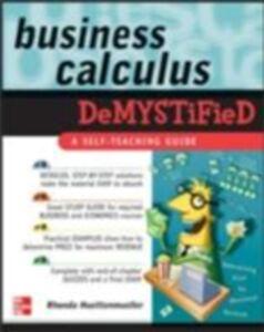 Ebook in inglese Business Calculus Demystified Huettenmueller, Rhonda