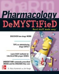 Foto Cover di Pharmacology Demystified, Ebook inglese di Mary Kamienski,Jim Keogh, edito da McGraw-Hill Education
