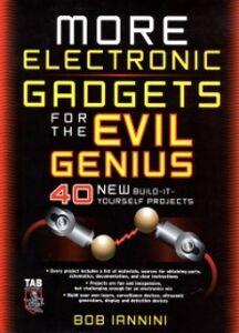 Foto Cover di MORE Electronic Gadgets for the Evil Genius, Ebook inglese di Robert Iannini, edito da McGraw-Hill Education