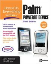 How to Do Everything with Your Palm Powered Device, Sixth Edition