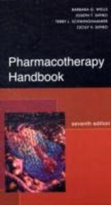 Libro Pharmacotherapy handbook