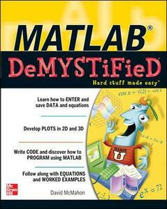 MATLAB Demystified - David McMahon - cover