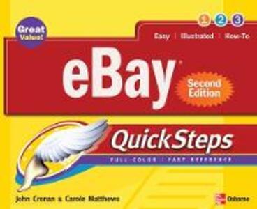 eBay (R) QuickSteps, Second Edition - Carole Matthews,John Cronan - cover
