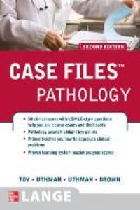 Case Files Pathology - Eugene C. Toy,Margaret O Uthman,Edward Uthman - cover