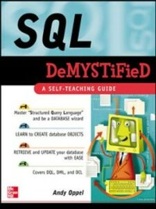 Ebook in inglese SQL Demystified Oppel, Andrew