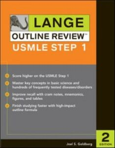 Ebook in inglese Lange Outline Review: USMLE Step 1, Second Edition Goldberg, Joel