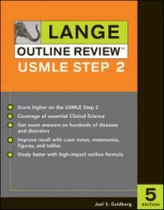 Ebook in inglese Lange Outline Review: USMLE Step 2, Fifth Edition Goldberg, Joel