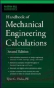 Ebook in inglese Handbook of Mechanical Engineering Calculations, Second Edition Hicks, Tyler G.