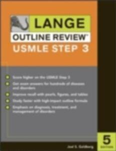 Foto Cover di Lange Outline Review: USMLE Step 3, Fifth Edition, Ebook inglese di Joel Goldberg, edito da McGraw-Hill Education