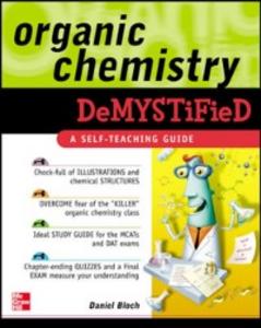 Ebook in inglese Organic Chemistry Demystified Bloch, Daniel