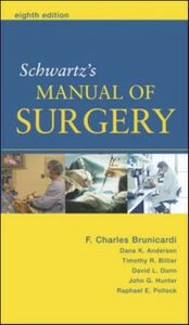 Foto Cover di Schwartz's Manual of Surgery, Ebook inglese di AA.VV edito da McGraw-Hill Education