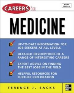 Ebook in inglese Careers in Medicine, 3rd ed. Sacks, Terence