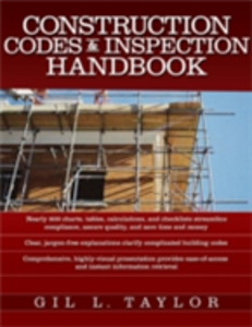 Ebook in inglese Construction Codes & Inspection Handbook Taylor, Gil