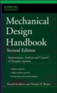 Foto Cover di Mechanical Design Handbook, Second Edition, Ebook inglese di Thomas Brown,Harold Rothbart, edito da McGraw-Hill Education