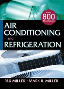 Foto Cover di Air Conditioning and Refrigeration, Ebook inglese di Mark Miller,Rex Miller, edito da McGraw-Hill Education