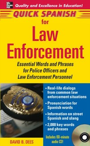 Ebook in inglese Quick Spanish Law Enforcement Dees, David