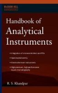 Handbook of Analytical Instruments - R. S. Khandpur - cover