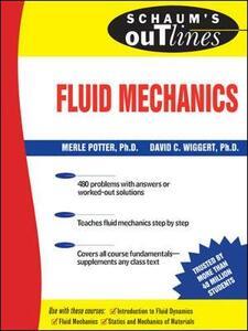 Schaum's Outline of Fluid Mechanics - Merle Potter,David C. Wiggert - cover