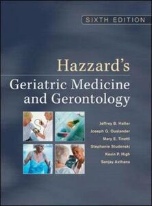 Libro Hazzard's geriatric medicine & gerontology