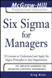 Ebook in inglese Six Sigma for Managers Brue, Greg