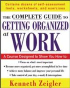 Ebook in inglese Getting Organized at Work Zeigler, Kenneth