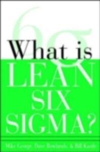 Foto Cover di What is Lean Six Sigma, Ebook inglese di AA.VV edito da McGraw-Hill Education