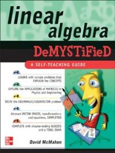 Ebook in inglese Linear Algebra Demystified McMahon, David