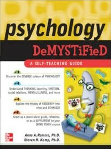 Ebook in inglese Psychology Demystified Kemp, Steven , Romero, Anna