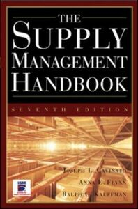 Foto Cover di Supply Mangement Handbook, 7th Ed, Ebook inglese di Joseph Cavinato, edito da McGraw-Hill Education