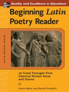 Ebook in inglese Beginning Latin Poetry Reader Betts, Gavin , Franklin, Daniel