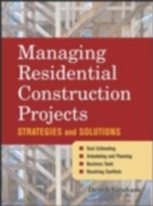 Ebook in inglese Managing Residential Construction Projects Graham, Derek