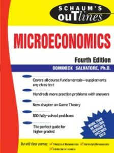 Ebook in inglese Schaum's Outline of Microeconomics, 4th edition Salvatore, Dominick