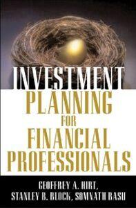 Ebook in inglese Investment Planning Basu, Somnath , Block, Stanley , Hirt, Geoffrey