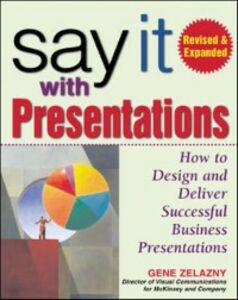 Ebook in inglese Say It with Presentations, Second Edition, Revised & Expanded Zelazny, Gene