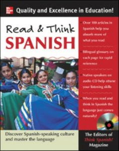Ebook in inglese Read and Think Spanish Spanish, The Editors of Think